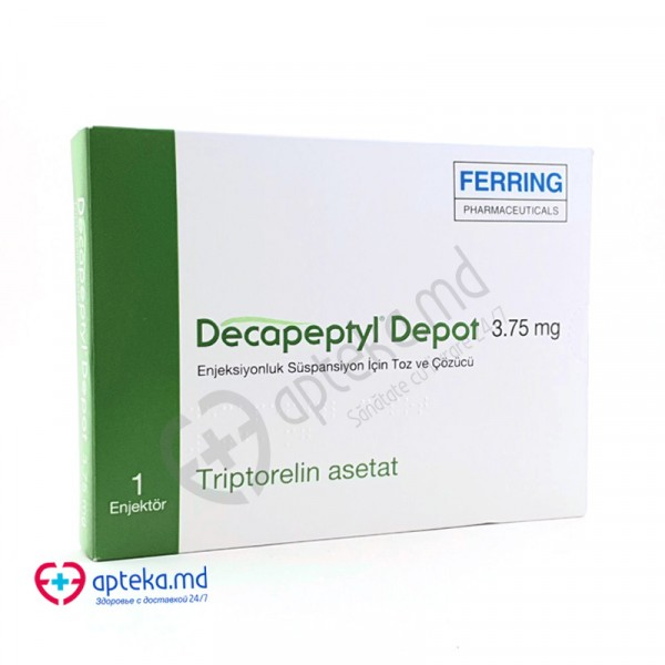 Decapeptyl Depo liof.+solv./susp. inj. 3,75 mg N1 + 1 ml N1