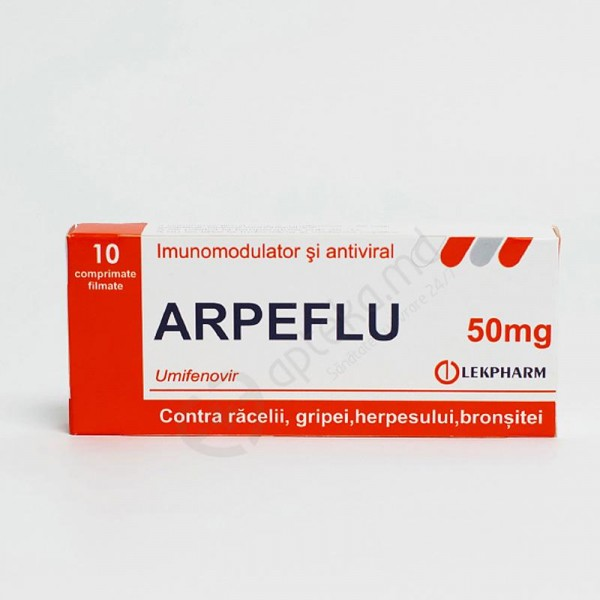 Arpeflu 50mg N10 comp. film.