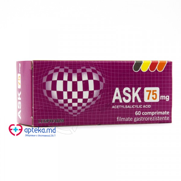 ASK comp. gastrorez. 75 mg N10x6