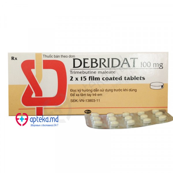 Debridat comp. 100 mg №30