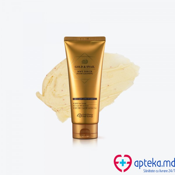 GOLD & SNAIL Soft touch foam cleansing 170g