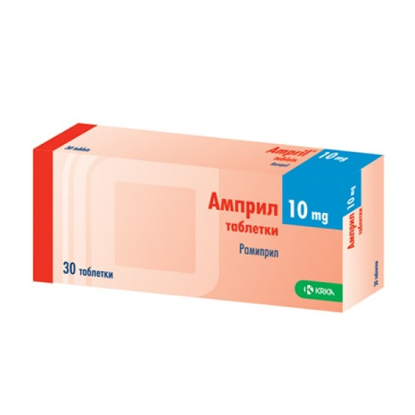 Ampril 10mg N10x3 comp
